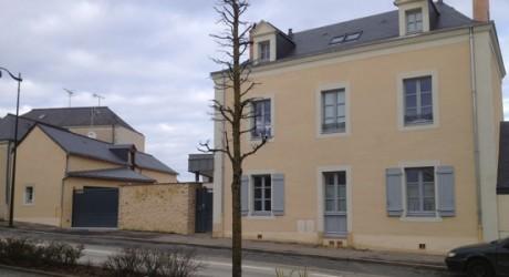 Ravalement de façade chateau-gontier